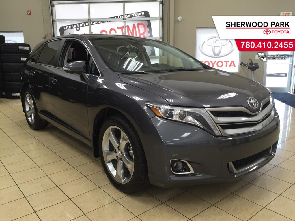 certified pre owned 2014 toyota venza v6 limited awd 4 door sport utility in sherwood park. Black Bedroom Furniture Sets. Home Design Ideas