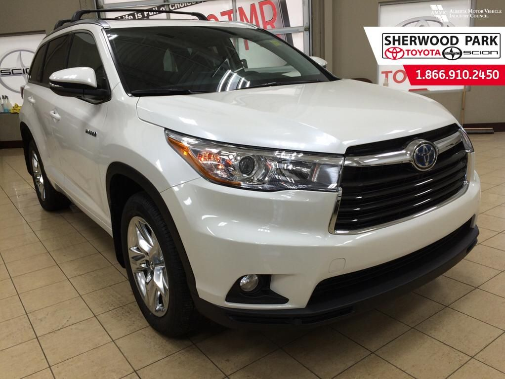 new 2016 toyota highlander hybrid limited 4 door sport utility in sherwood park 6hi4698. Black Bedroom Furniture Sets. Home Design Ideas
