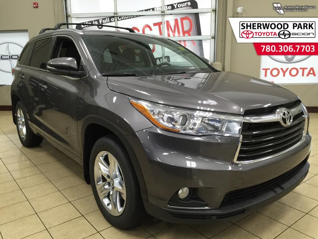 new 2016 toyota highlander limited 4 door sport utility in sherwood park 6hi2928 sherwood. Black Bedroom Furniture Sets. Home Design Ideas