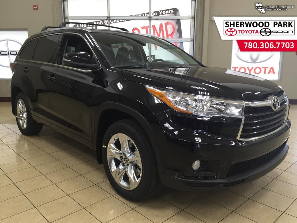 new 2016 toyota highlander limited 4 door sport utility in sherwood park 6hi4224 sherwood. Black Bedroom Furniture Sets. Home Design Ideas