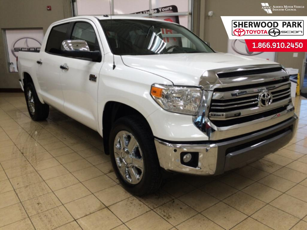 new 2016 toyota tundra 1794 4 door pickup in sherwood park 6tu0871 sherwood park toyota. Black Bedroom Furniture Sets. Home Design Ideas