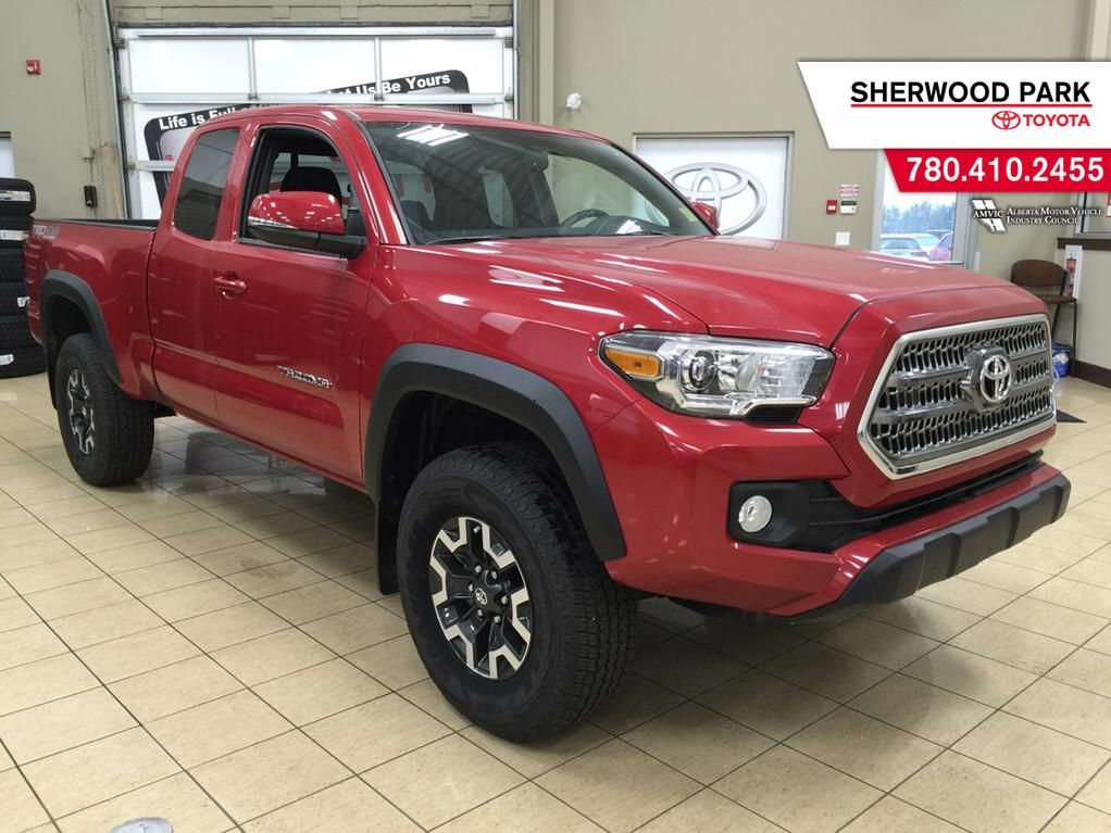 new 2016 toyota tacoma trd off road 4 door pickup in sherwood park 6ta3883 sherwood park toyota. Black Bedroom Furniture Sets. Home Design Ideas
